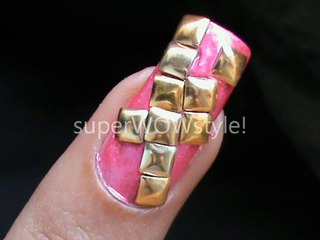 Studded Nails ✦ Studs Nail Designs