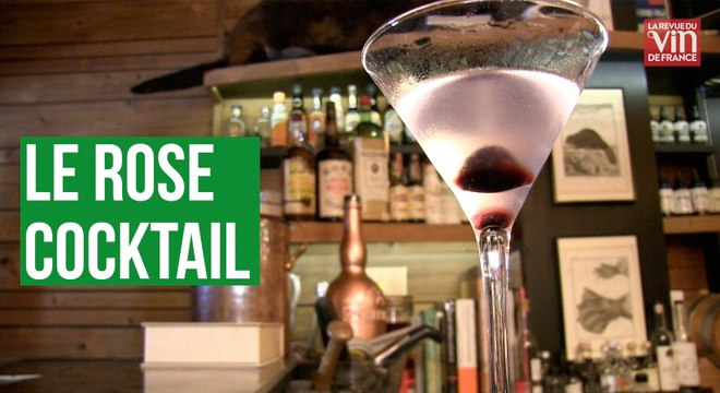 La recette du Rose, le cocktail incontournable à Paris jusqu'aux années 1930