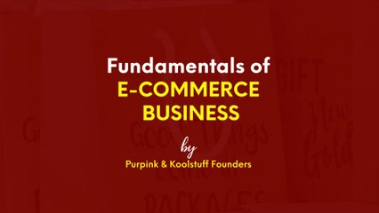 Fundamentals of navigating the e-commerce space in the +254 | The Sauce