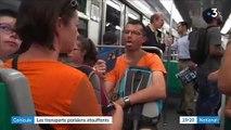 Spéciale Canicule : A Paris, seule trois lignes du métro de la capitale sont climatisées - Témoignages d'usagers