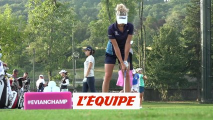 Pauline Roussin-Bouchard, un swing athlétique - Golf - The Evian