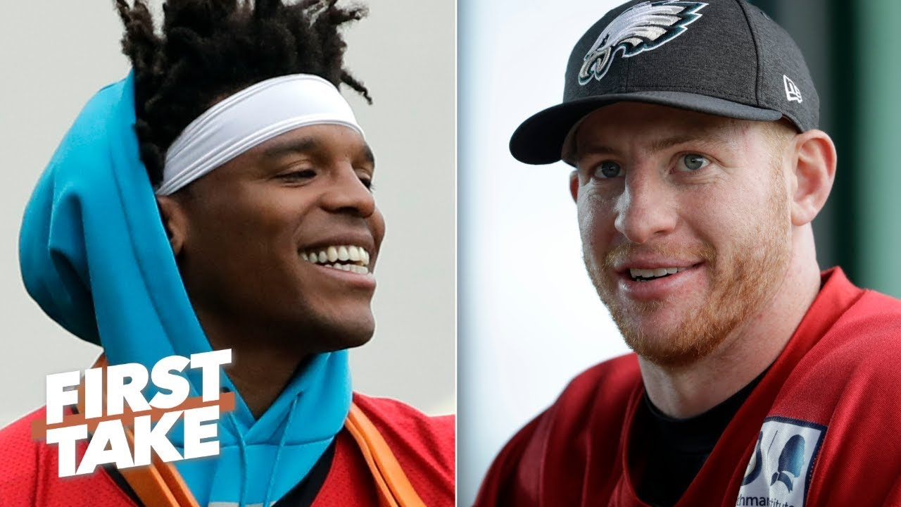 Cam Newton vs. Carson Wentz: Which QB would you rather have? – First Take