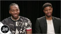 Kawhi, Paul George discuss teaming up with Clippers, wild 2019 NBA free agency - The Jump