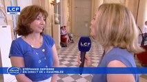 La député Corine Vignon dans la galère quand on lui pose une question sur la réforme des retraites