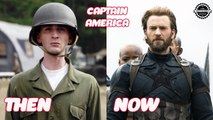 Captain America: The First Avenger Then And Now