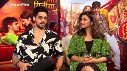 The Bollywood Jodi Quiz With Sidharth Malhotra and Parineeti Chopra | Jabariya Jodi