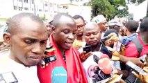 Mobilisation devant l'ambassade de France à Conakry pour réclamer ''justice pour Mamoudou Barry''
