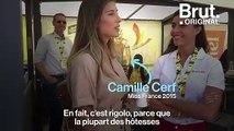 Une journée avec des hôtesses du Tour de France