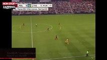 Football : un chat vient perturber André-Pierre Gignac lors d'un match (vidéo)