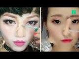 En matière de maquillage, ces femmes vont très loin pour changer de tête