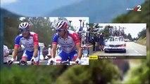 Tour de France : Regardez les images terribles de l'abandon surprise, en larmes, peu après 15h du Français Thibaut Pinot