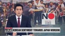 Korean boycott of Japanese products grows amid trade row