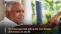 Karnataka update: BS Yediyurappa becomes Cheif Minister of Karnataka