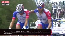 Tour de France 2019 : Thibaut Pinot contraint d'abandonner en larmes (vidéo)