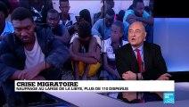 """Naufrage au large de la Libye : """"ces personnes sont contraintes à migrer"""""""