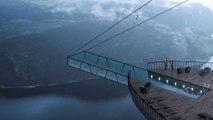 Viviendo al límite: descubre este espectacular diseño de un hotel en un acantilado noruego