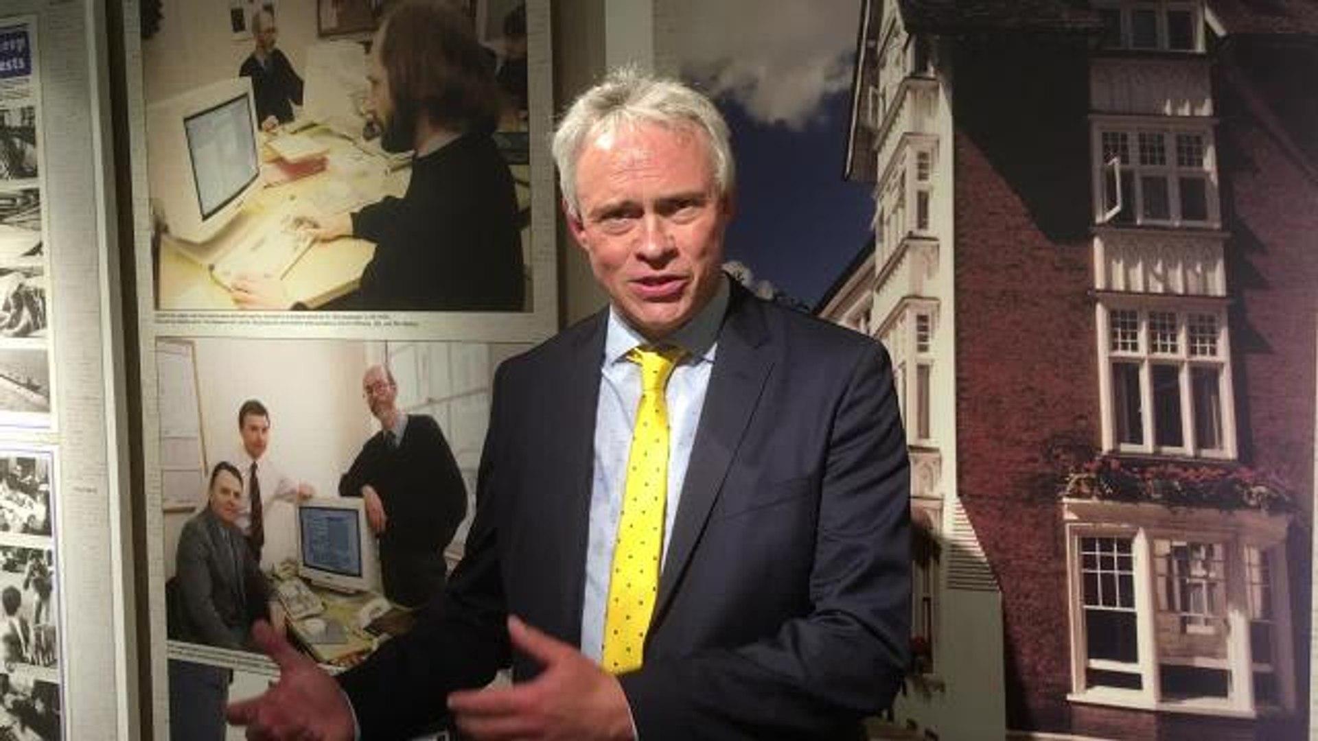 Watch editor Gary Shipton relive the Horsham royal visit
