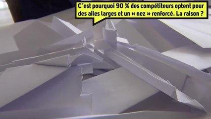 Les secrets pour faire des avions en papier de compétition ! ✈️