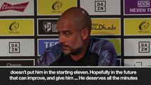 (Subtitled) 'He is the most talented player I have ever seen' Guardiola on Foden