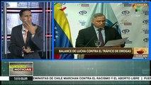 Venezuela: fiscalía ofrece balance de lucha contra el narcotráfico