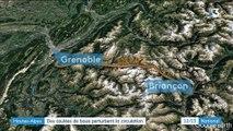 Hautes-Alpes : des coulées de boue perturbent la circulation