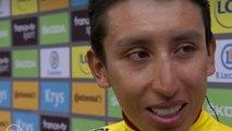 """Tour de France 2019 / Egan Bernal : """"Je ne voulais pas m'arrêter, je ne comprenais pas"""""""