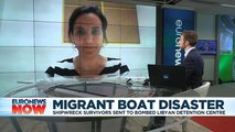 'Unimaginable': Mediterranean shipwreck survivors 'sent to bombed Libyan detention centre'