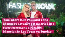YouTubers Jake Paul and Tana Mongeau Are Officially Married