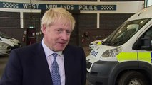 Boris announces new police officers