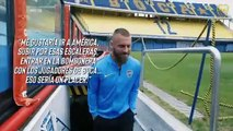 Daniele De Rossi is presented as a Boca Juniors player after his transfer from Roma