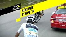Résumé - Étape 19 - Tour de France 2019