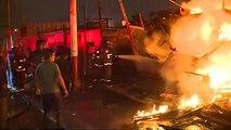 Au Pérou, un incendie a ravagé la ville portuaire de Callao
