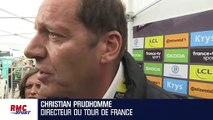 Tour de France : Prudhomme explique pourquoi la 19e étape a été arrêtée prématurément