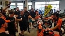 Moto GP : Johann Zarco à la rencontre de ses fans à Avignon