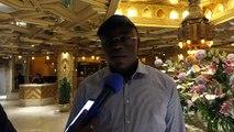 Matar Ba Ministre Des Sports du Sénégal sur les lions