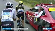 Tour de France : la course interrompue à cause de la grêle, fin du rêve pour Thibaut Pinot