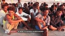 """Migrants : en Libye, les corps de 62 migrants repêchés après le """"pire"""" naufrage de l'année"""