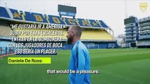 (Subtitled) Former Roma captain De Rossi 'fulfilled dream' by joining Boca