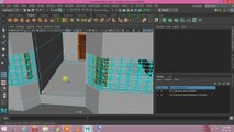 House Modeling Basics Hindi Part 09! How to texture house in Maya! Maya tutorial Hindi! Building color process! Autodesk Maya. animation training. 3d modeling class! Easy house color method!