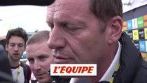 Prudhomme «Il n'y avait pas d'autre solution» - Cyclisme - Tour de France