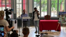 Réception de Riyad Mahrez à la Mairie de Sarcelles