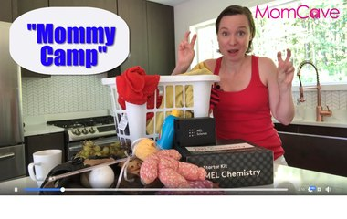 MOMMY CAMP -- Home with the kids all summer? Mom Camp Activities sponsored by MEL Chemistry
