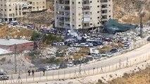 فيديو: الشرطة الإسرائيلية تفرق بالقوة مظاهرة منددة بهدم عشرات المنازل بالقدس