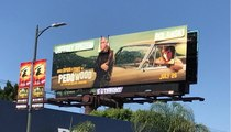 """Once Upon A Time in Pedowood"" Billboard in Hollywood"