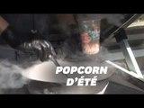 Le popcorn glacé à l'azote liquide ravit les papilles au Japon