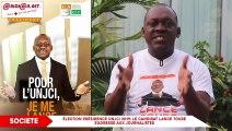 Élection présidence UNJCI 2019- Le candidat LANCE TOURE s'adresse aux journalistes
