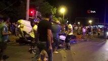 Fethiye'de domates yüklü kamyonet ile otomobil çarpıştı: 4 yaralı
