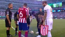 Diego Costa scores four goals for Atletico to beat Real Madrid 7-3 in the ICC