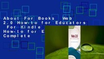 About For Books  Web 2.0 How-to for Educators  For Kindle   Web 2.0 How-to for Educators Complete