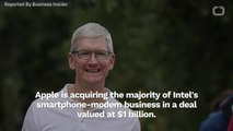 Apple Buys Intels SmartPhone Business For $1-Billion
